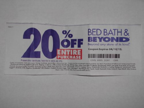 Coupon for bed bath and beyond 2018