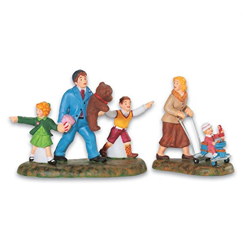 Dept 56 Accessories Family Day At The Carnival 53805 Carnival Porcelain New front-1026829