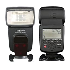 Yongnuo YN-568EX TTL Flash Speedlite HSS For Canon 5DIII 5DII 5D 7D 1100D 1000D (ETTL / i-TTL, M, Multi Mode) By Ghope
