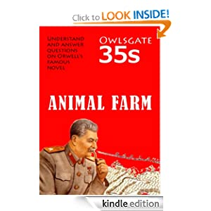 Animal Farm Study Guide Owlsgate 35s David Neilson