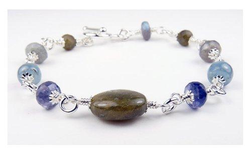 Damali Spiritual Journey Chakra Intention Bracelet - Large 8.5 In