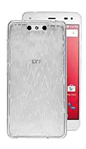 Reliance Jio LYF Earth 1 Case,White Soft ,Lightweight,Shock Absorbing Tpu Back Case Cover For Reliance Jio LYF Earth 1