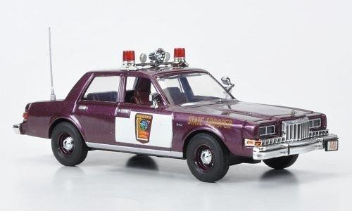 dodge-diplomat-minnesota-state-patrol-1985-modellauto-fertigmodell-first-response-143