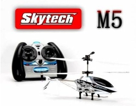 White M5 Helicopter with 35 Channel Remote Control