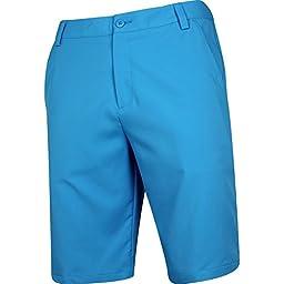 PUMA Golf Men\'s Golf Solid Tech Short \'16 Hawaiin Ocean Shorts 30 X 11
