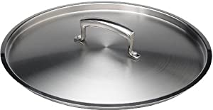 Browne Foodservice 5815216 Thermalloy Aluminum Double Boiler Cover for 16-Quart Sauce Pan by Browne Foodservice