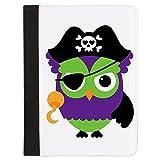 Padfolio Letter Paper Pad Case Little Owl Pirate
