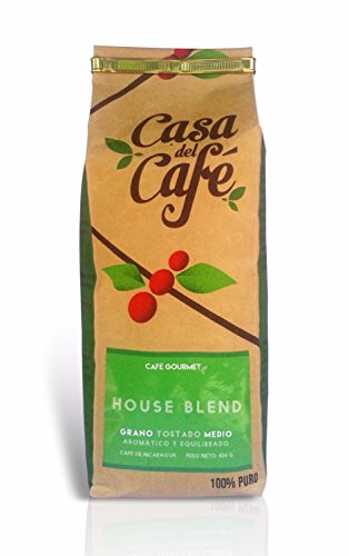 Casa del Cafe Whole Coffee Beans, 16 Ounce Bag - from Nicaragua