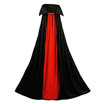 "Deluxe Vampire Cape - Medium (48"" Long) ~ Halloween Vampire Capes (STC11501-M)"