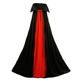 "Deluxe Vampire Cape - Medium (48"" Long) ~ Halloween Vampire Capes (STC11501-M)"