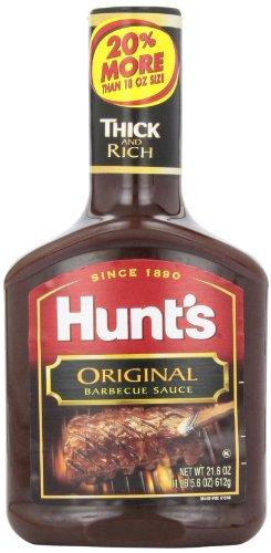 Hunt'S BBQ Sauce Original, 21.6 Oz