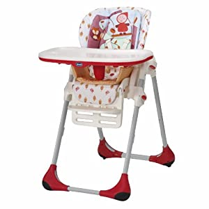 Chicco Polly Highchair (Happyland)