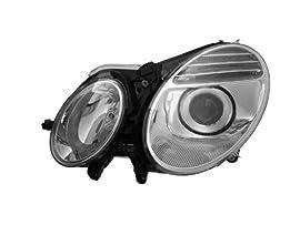 Mercedes Benz E-Class Headlight Oe Style Halogen Type Headlamp Left Driver Side