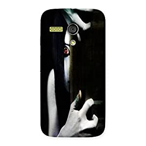 Ajay Enterprises Horror viewer Back Case Cover for Moto G