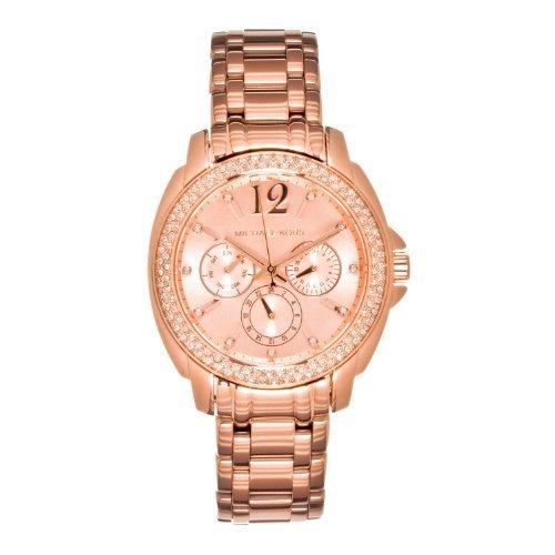 Michael Kors Women'S 'Cameron' Round Rose Gold Bracelet Watch - Mk5692