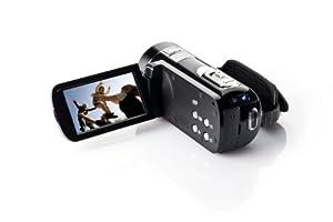 Aiptek, AHD H23 Full HD Camcorder (7,6 cm (3,0 Zoll) Touchscreen Display, SD Kartenslot, 23-fach opt. Zoom, HDMI, USB 2.0)