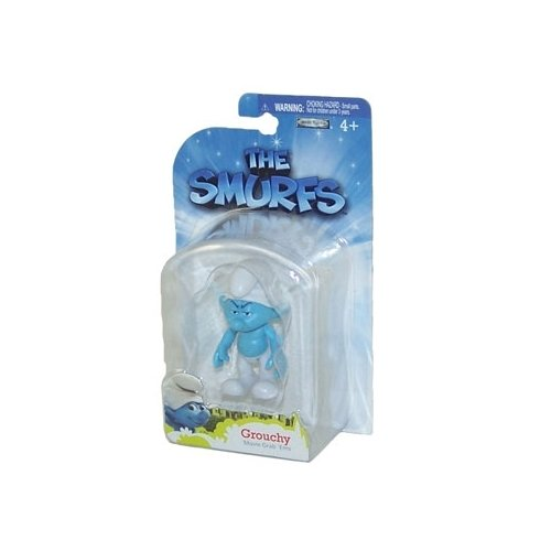 The Smurfs Movie Grab Ems Mini Figure Grouchy