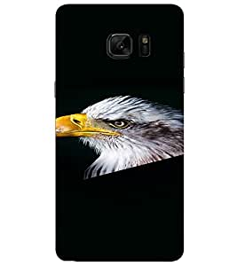 PrintVisa Eagle Bird Design 3D Hard Polycarbonate Designer Back Case Cover for SAMSUNG GALAXY NOTE 7