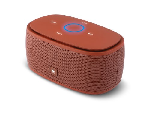 Kingone K5 Bluetooth Speaker With Tf Car Mp3 Player And Handsfree - 360-Degree And Both Of Top & Bottom Surround Sound & Super Bass (Brown)