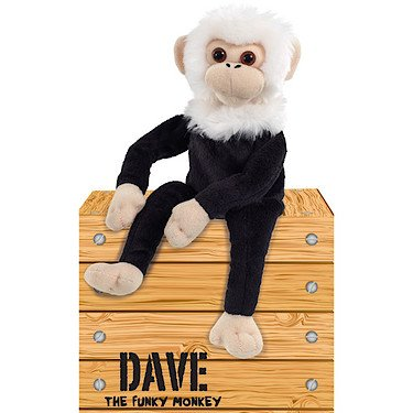 Dave The Funky Monkey Plush Toy (Remote Control Monkey compare prices)