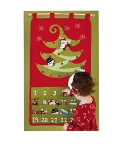 C.R. Gibson Stitched Felt Ornament Advent Calendar - 1
