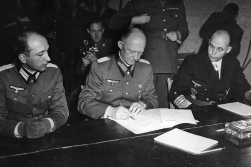 Ve Day - Germany'S Unconditional Surrender In World War Ii