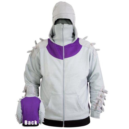 Old Glory Men's Teenage Mutant Ninja Turtles - Shredder Costume Hoodie - 2X-Large Grey