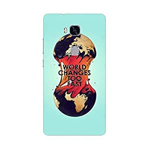 HUAWEI HONOR 5X Cover, Premium Quality Designer Printed 3D Lightweight Slim Matte Finish Hard Case Back Cover for Honor 5x - Giftroom-433