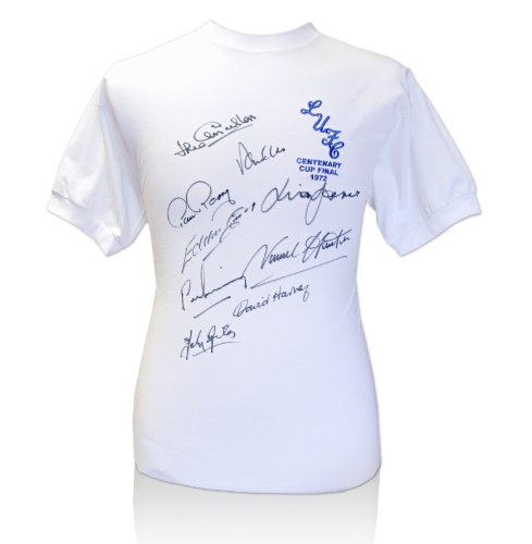 Leeds United 1972 FA Cup Final Signed Shirt 9 Players