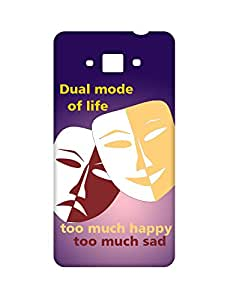 Mobifry Back case cover for Samsung Galaxy Grand Max SM-G720 Mobile ( Printed design)