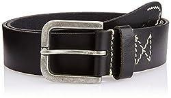 Wac Men's Leather Belt (WRAL0247_Black) (8907222029128)