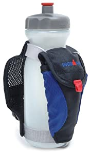 Ironman Speed Sip Handheld 22-Ounce Bottle Carrier with Pocket (Royal)