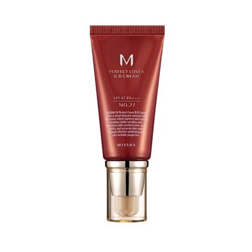 Missha M Perfect Cover BB Cream SPF 42 PA No 27 Honey Beige