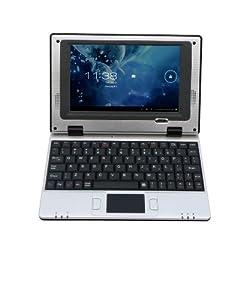 """Bluetech - MPC 700 ABT 001 - Netbook Android 7"""" (17,8 cm) - 4 Go - Durée de batterie: 2h - Argent"""