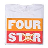 Fourstar Stacked Tee White