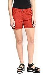 Brick Thigh Length Shorts