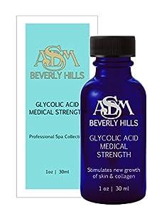 Glycolic Acid 10% --- 1 oz | Asdm Beverly Hills --- 1 PC *NEW*
