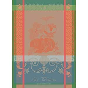 garnier thiebaut potiron pumpkin rouille woven french kitchen towel 22 x 30 100 cotton. Black Bedroom Furniture Sets. Home Design Ideas