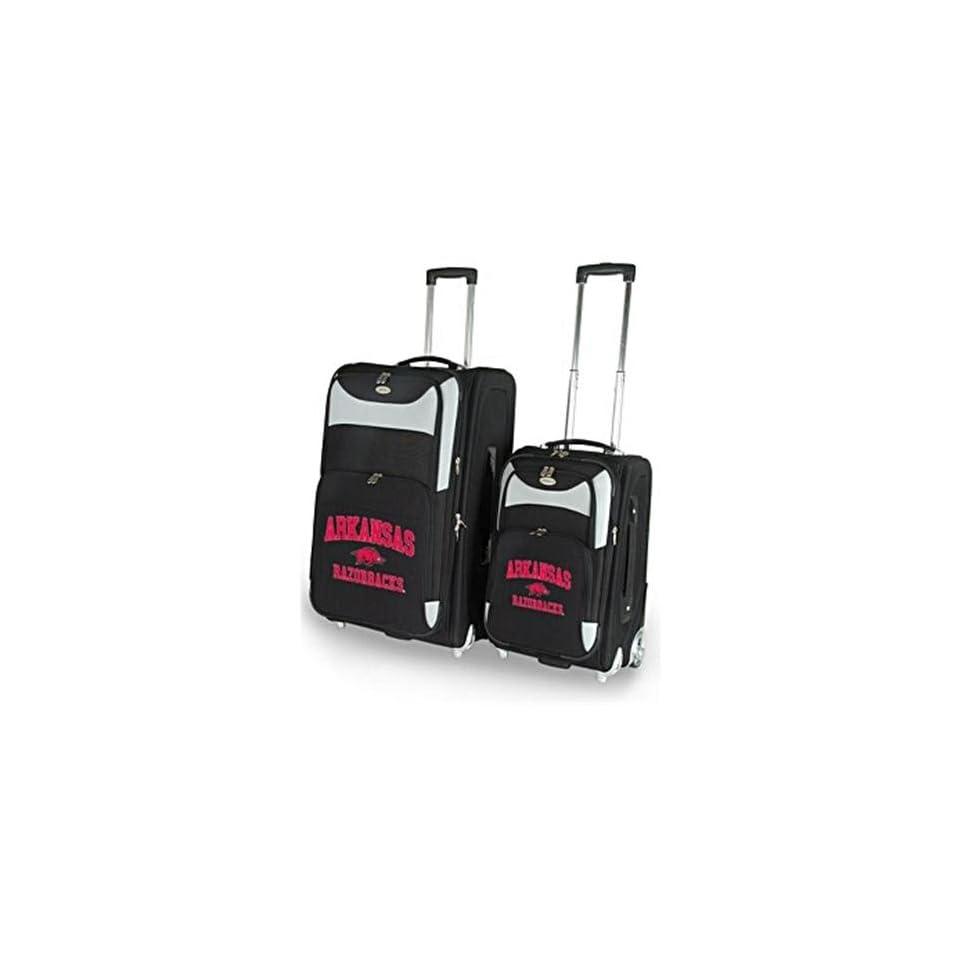Arkansas Razorbacks UA NCAA Two Piece Luggage Set Sports