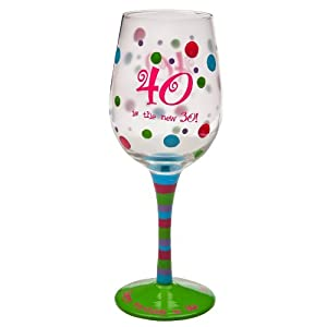 40 is the new 30 Stemware Glass by Gifted Living