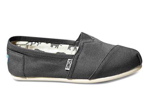 Details for Toms Classic Ash Canvas 001001B07-GREY Womens 7.5