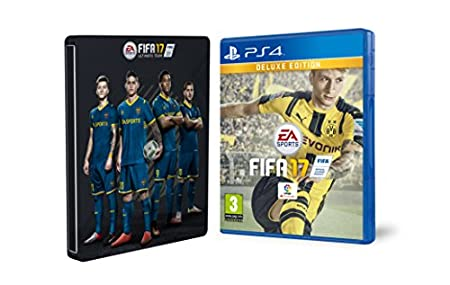 FIFA 17 - Edición Deluxe + Steelbook (Exclusivo en Amazon)