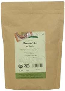 Davidson's Organic Tea Bulk, Mandarin Chai W / Anise, 16-Ounce Bag