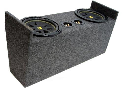 "Asc Package Jeep Wrangler 87-06 Yj & Tj Dual 10"" Kicker C10 Subwoofer Sub Box Enclosure 600 Watts Peak"