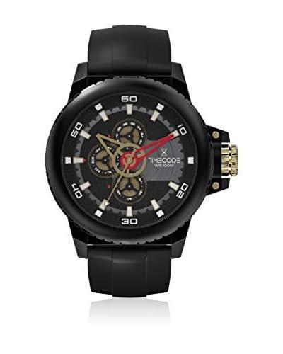 Timecode Orologio al Quarzo Www 1991 Nero 49 mm