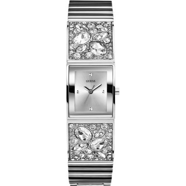 Guess Ladies Stone Set Bracelet Watch W0002L1