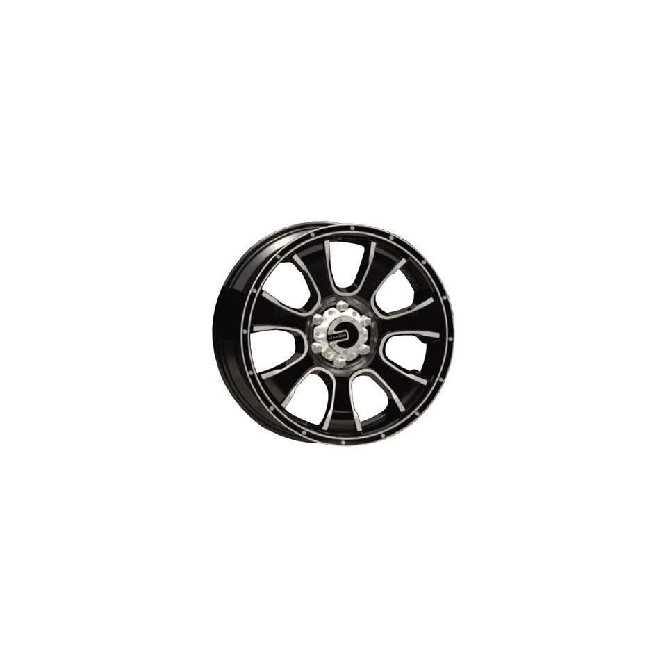Mamba M7 20x9 Black Wheel / Rim 6x5.5 with a 0mm Offset and a 108.38 Hub Bore. Partnumber MAMM7 2983B+0