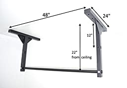 HD Pull Chin Up Bar Ceiling or Wall Mounted Stud Mount (Special Sale)