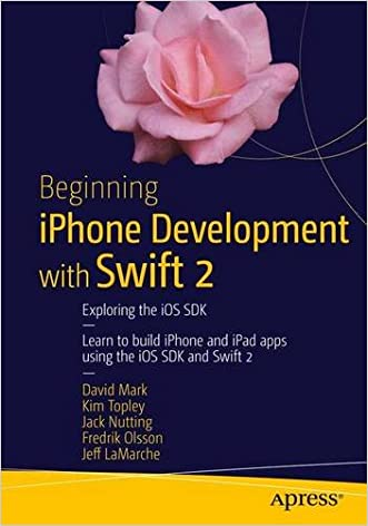 Beginning iPhone Development with Swift 2: Exploring the iOS SDK