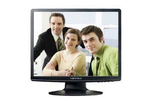 Hanns G HA191DPB 19 inch LCD TFT monitor - Matte Black
